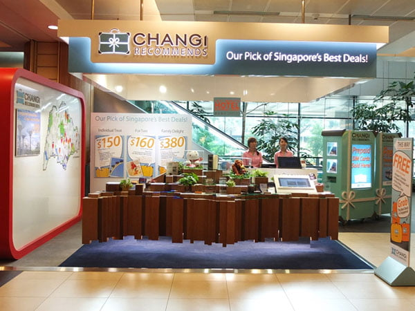 Changi Recommends Booth