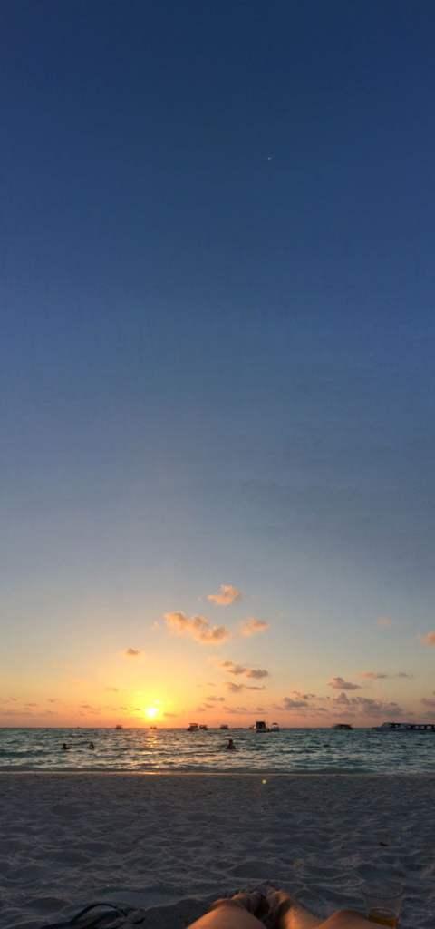 Club Med Kani Maldives Beach Pano Sky