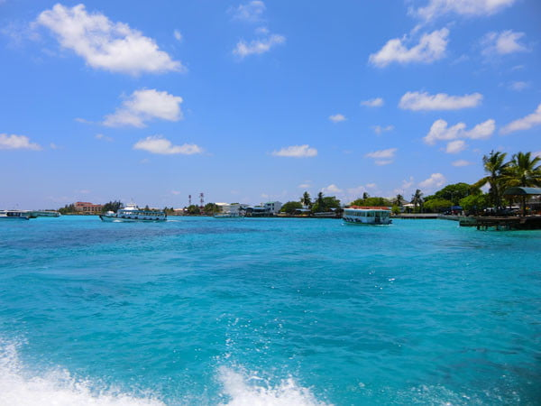 Club Med Kani Maldives Boat Ride Blue Waters