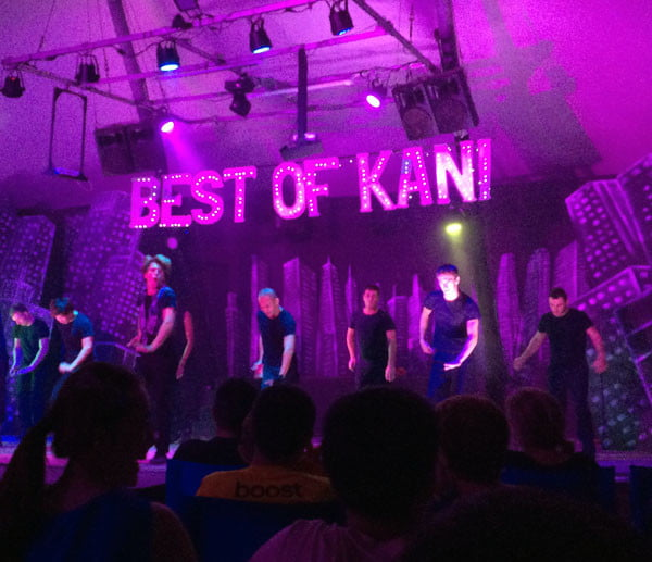 Club Med Kani Maldives Performance Stage
