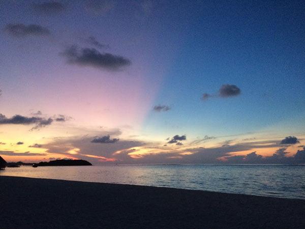 Club Med Kani Maldives Sunset Half Sky