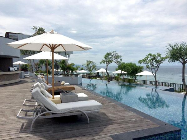 Bali Samabe Pool Deckchair