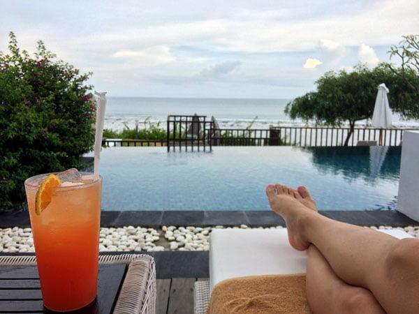 Bali Samabe Pool Lounging