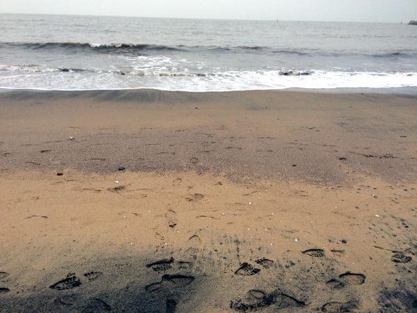 Macau Coloane Hac Sa Beach Sand