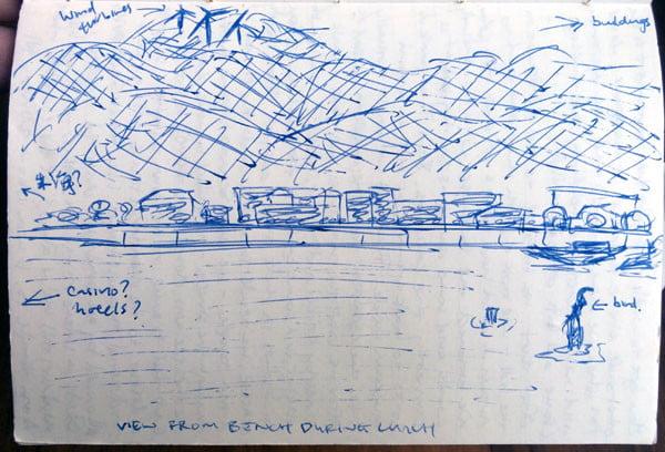 Macau Coloane Sketch Zhuhai