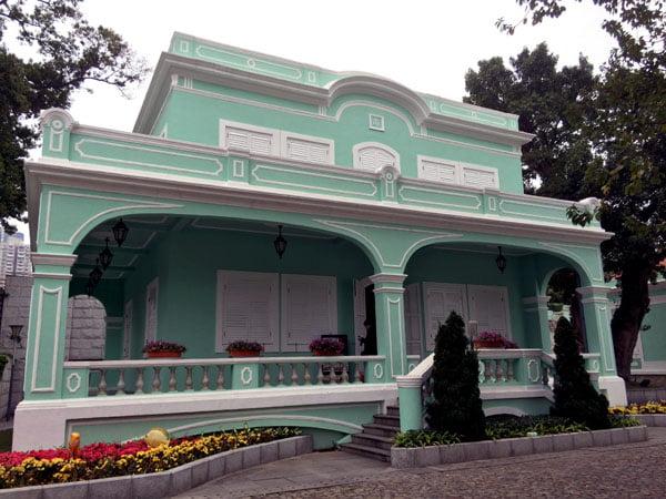 Macau Taipa Houses Museum Architecture