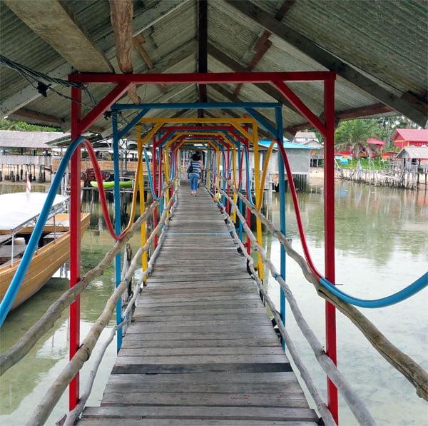 Bintan Kawal Jetty Colourful