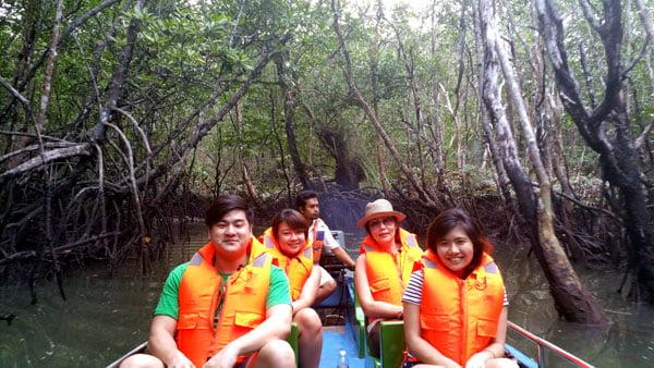 Bintan Mangrove Group Pic