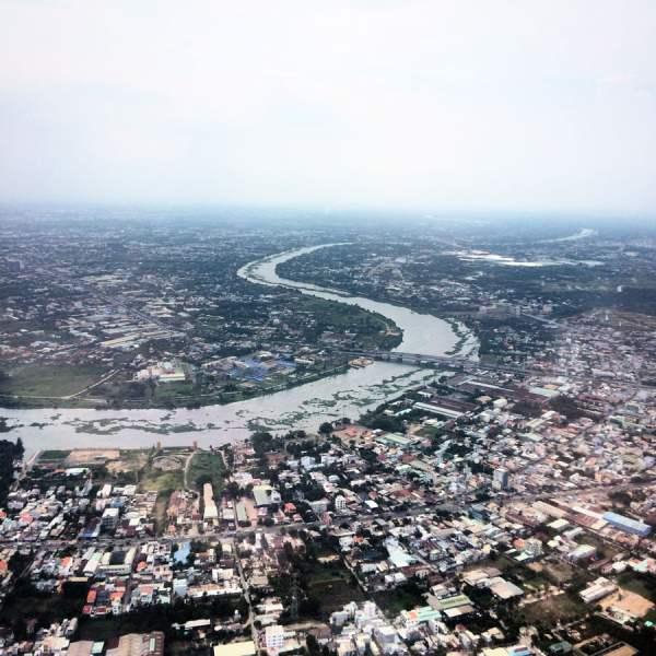 Vietnam Ho Chi Minh Plane View