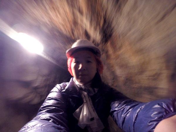 Gippsland Walhalla Mine Tour Selfie