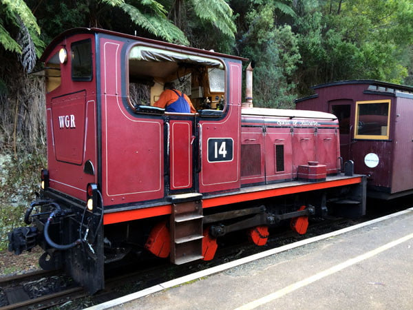 Gippsland Walhalla Train Engine