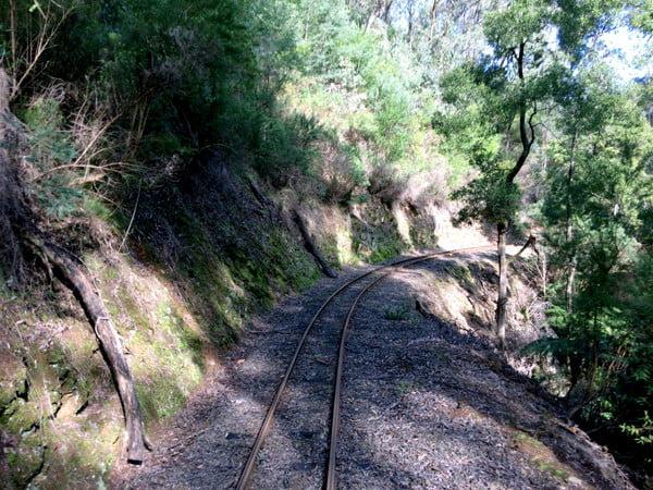 Gippsland Walhalla Train Tracks
