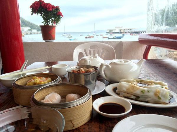 Hong Kong Lamma Island - Yung Shue Wan Dim Sum