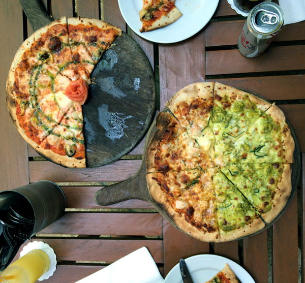 Phuket Moevenpick Resort Food Pizza