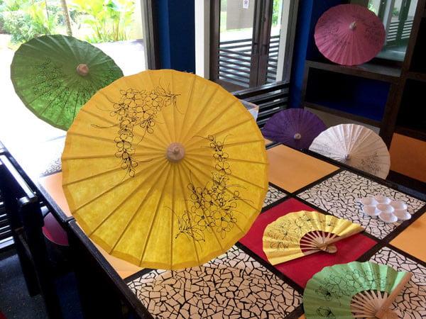 Phuket Moevenpick Resort Parasol Painting