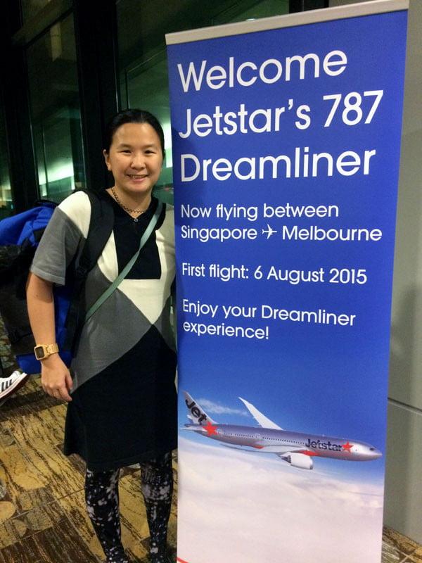 Jetstar Melbourne 787 Banner