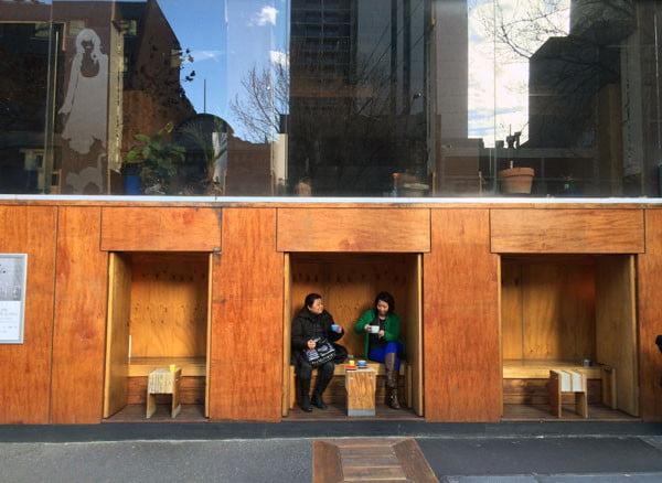 Melbourne Flipboard Cafe Cubbies