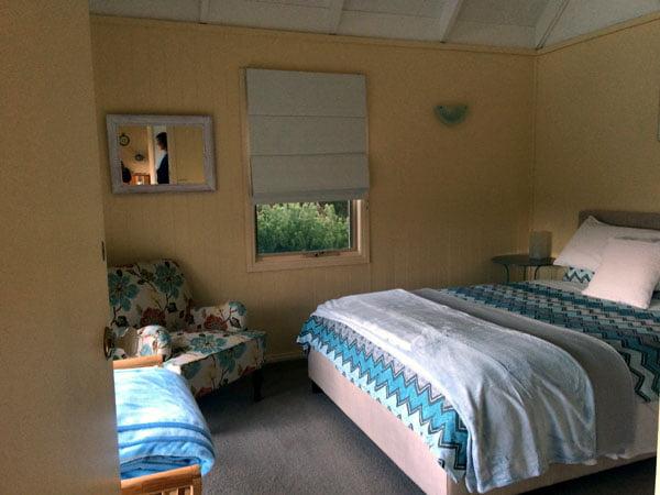 Gippsland Bear Gully Cottage Bedroom