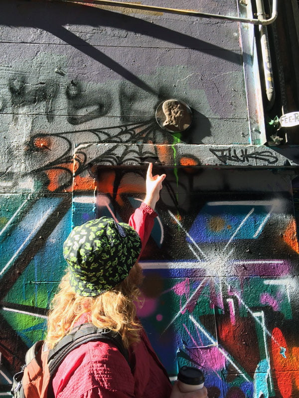 Melbourne Street Art - Junky Pointing