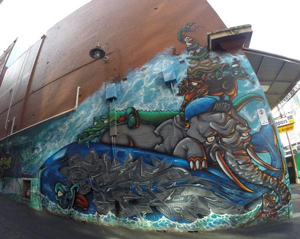 Melbourne Street Art - Snider Putas