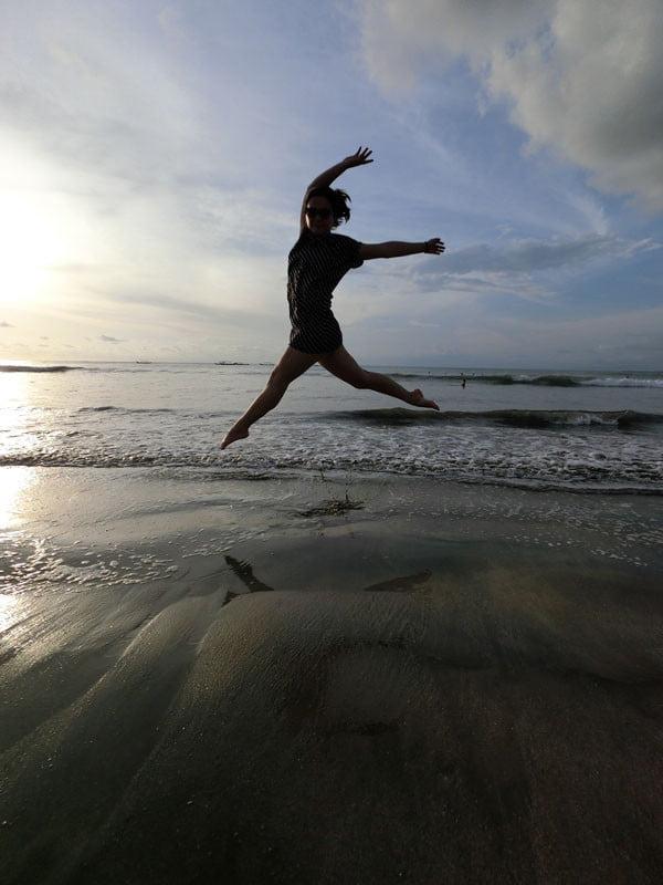 Bali Casio Kuta Beach Jumpshot