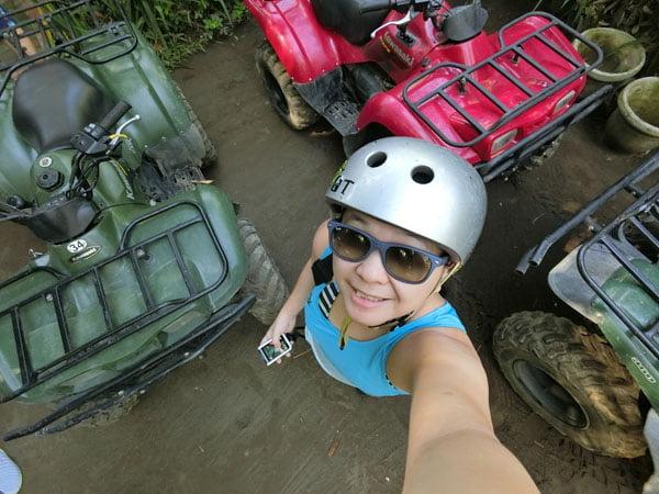 Bali Casio Quad Bike Top Down Selfie