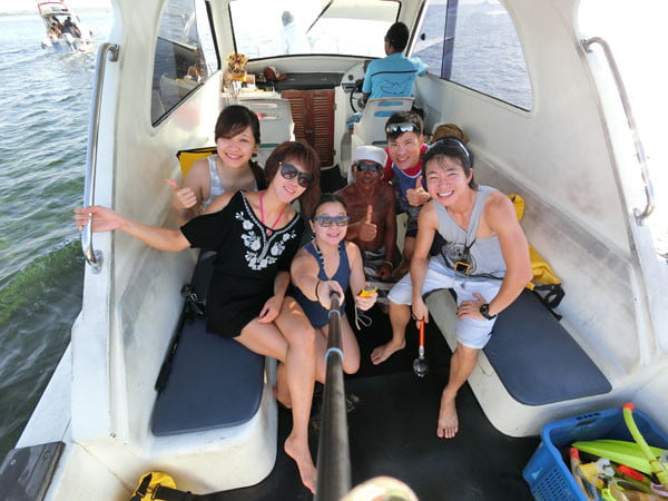 Bali Casio Snorkeling Fast Boat