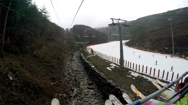 Gangwon High1 Ski Resort Ski Lift