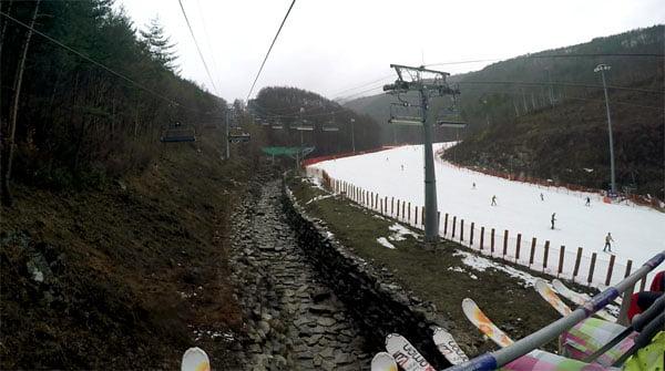 Gangwon High1 Ski Resort Ski Lift