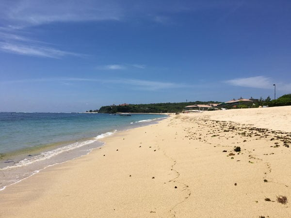 Bali St Regis Beach Shore