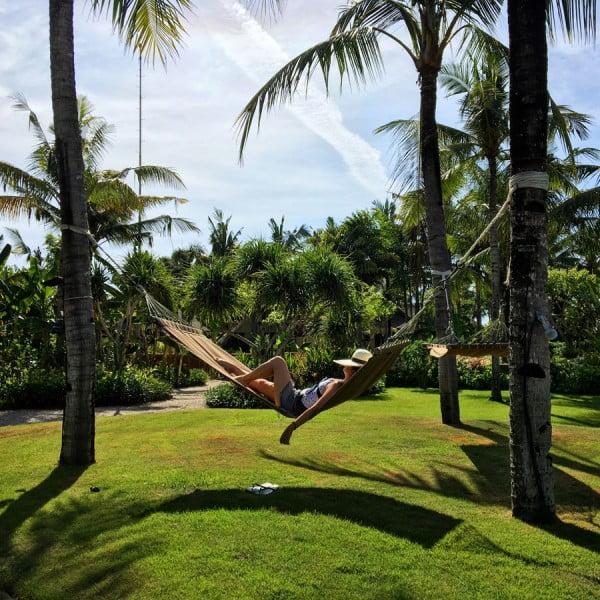 Bali St Regis Garden Hammock