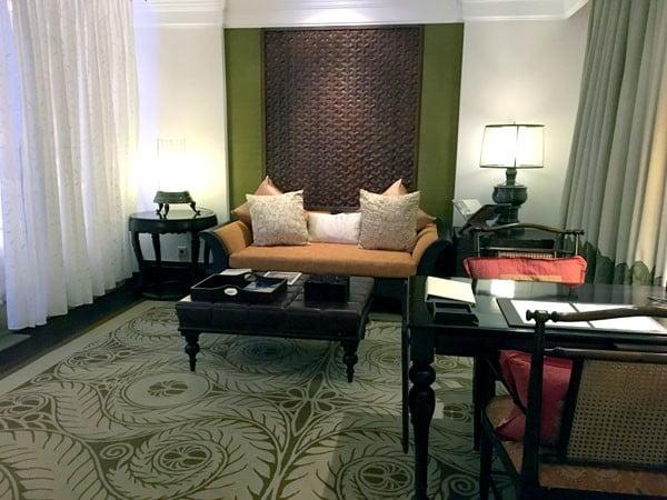 Bali St Regis Living Room