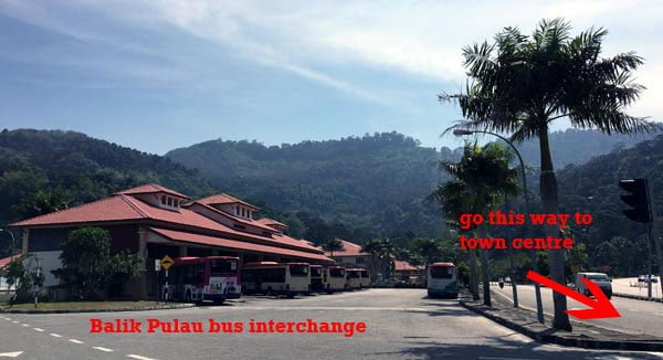 Penang Street Art - Balik Pulau Bus Interchange