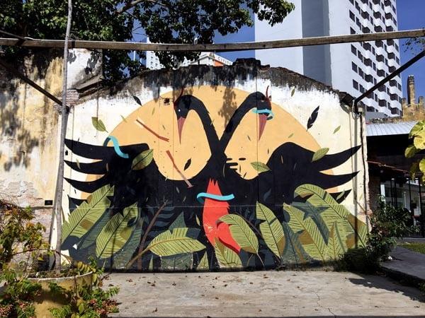 Penang Street Art - Hin Bus Depot Sabek