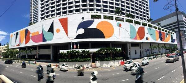 Penang Street Art - Jalan Magazine Hotel Jen YES