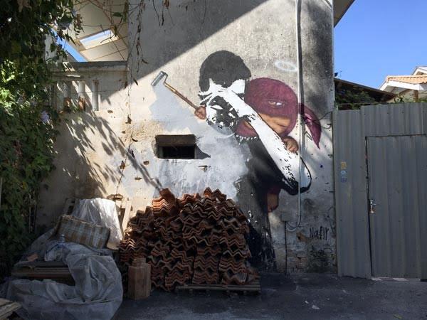 Penang Street Art - Jalan Nagore Nafir-AlexFace