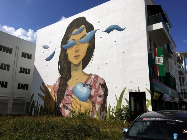 Penang Street Art - Raja Uda Sabek Closer