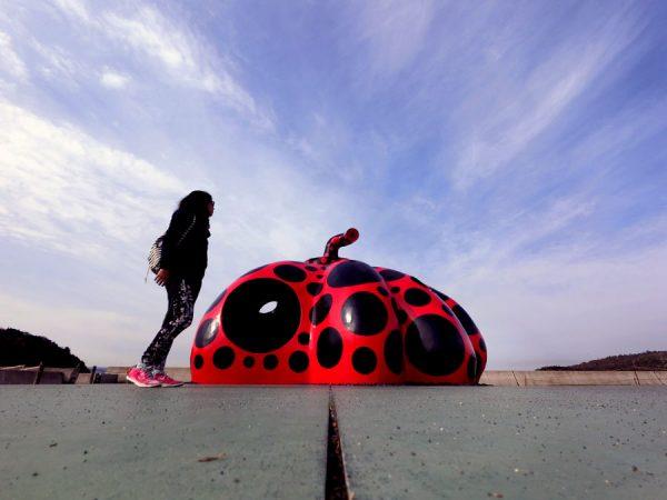 Setouchi Triennale 2016 - Naoshima Red Pumpkin