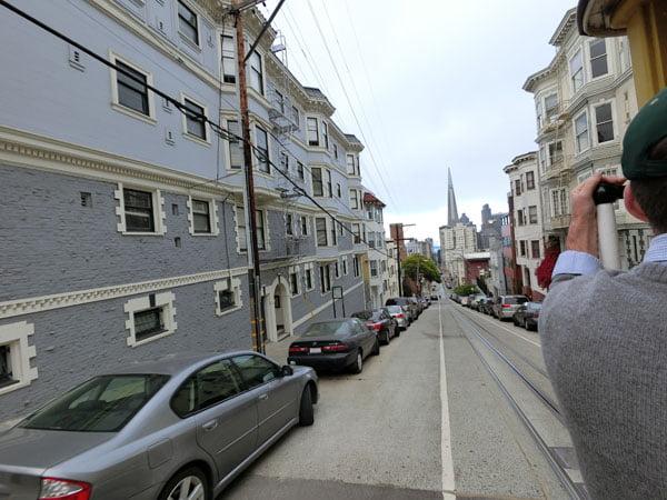 San Francisco - Cable Car view