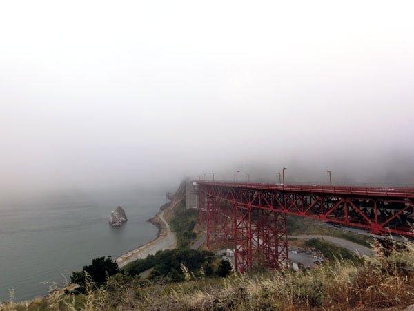 San Francisco - Golden Gate Bridge Fog