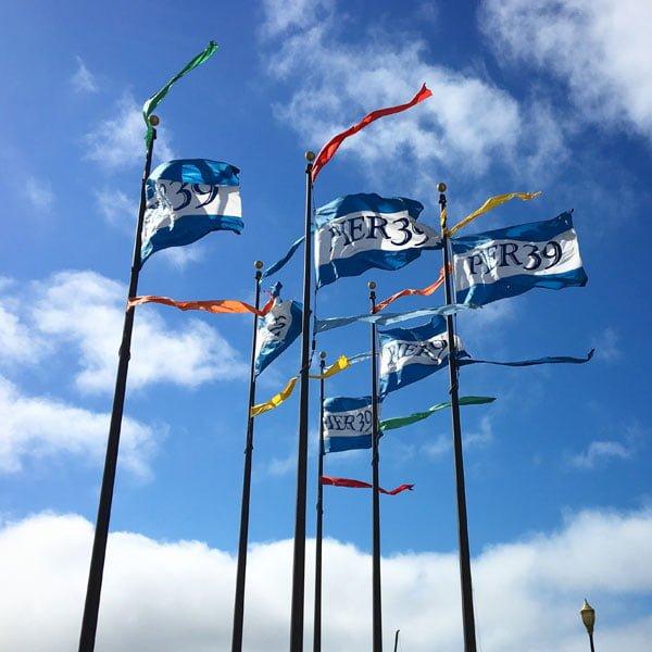 San Francisco - Pier 39 Flags