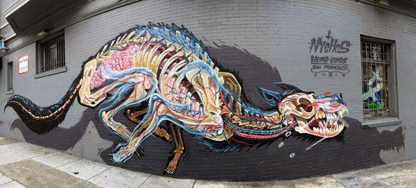 San Francisco Street Art Haight Ashbury Nychos