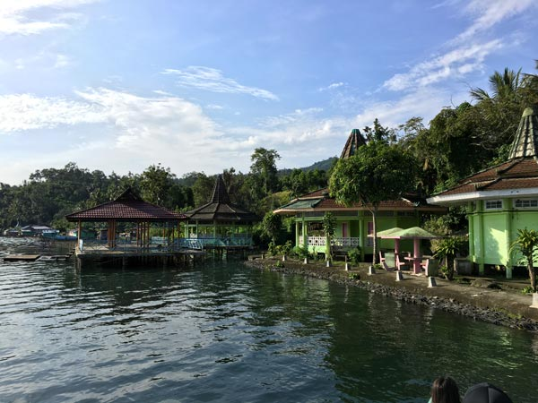South Sumatra Ranau Lake Hot Spring Houses