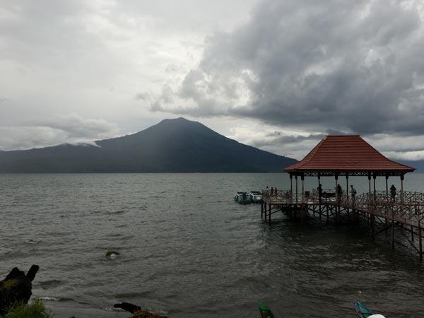 South Sumatra Ranau Lake Wisma Pusri Jetty