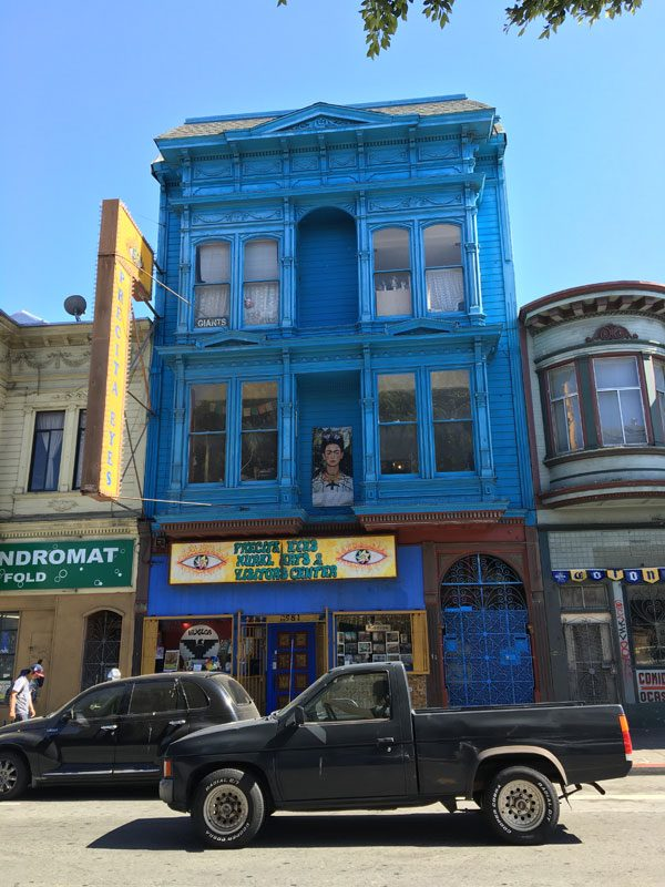 San Francisco Street Art - Precita Eyes Muralists Building