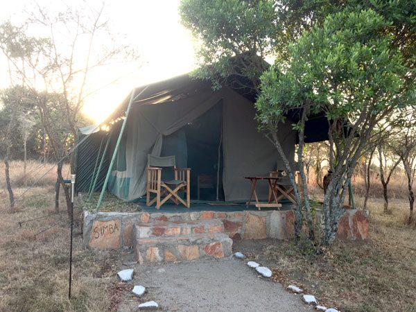 Kenya Maasai Mara Explorers Camp Simba