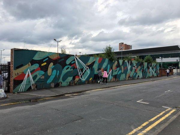 Manchester Street Art Long Wall