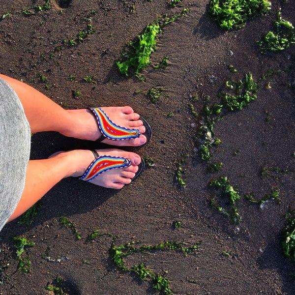 Flores Labuan Bajo Atlantis Beach Feet