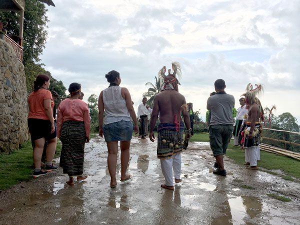 Flores Melo Manggarai Dance Participate