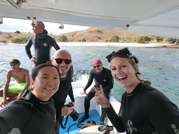 Komodo Diving Happy Group